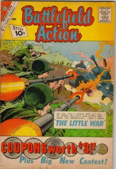 Cover for Battlefield Action (Charlton, 1957 series) #36