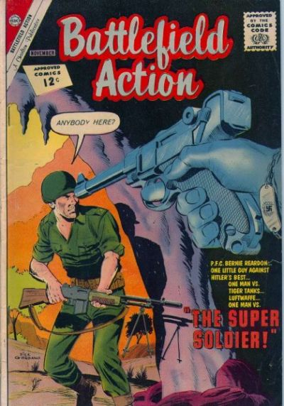Cover for Battlefield Action (Charlton, 1957 series) #44