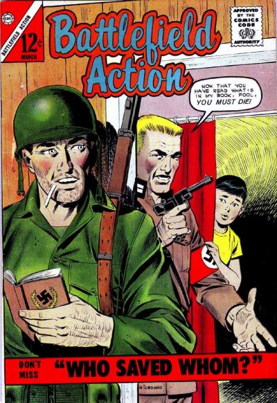 Cover for Battlefield Action (Charlton, 1957 series) #46