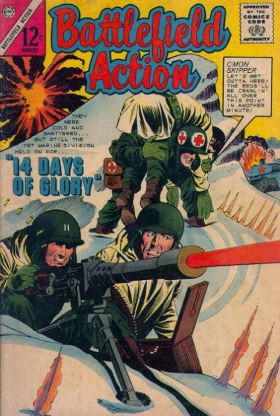 Cover for Battlefield Action (Charlton, 1957 series) #54