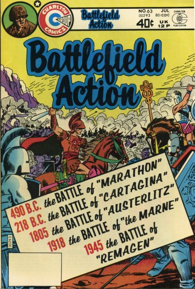 Cover for Battlefield Action (Charlton, 1980 series) #63