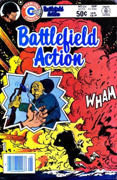 Cover for Battlefield Action (Charlton, 1980 series) #64