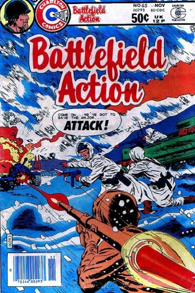 Cover for Battlefield Action (Charlton, 1980 series) #65