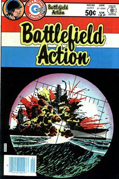 Cover for Battlefield Action (Charlton, 1980 series) #66