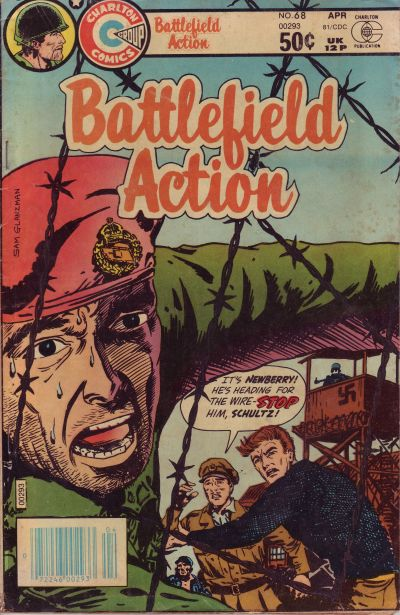 Cover for Battlefield Action (Charlton, 1980 series) #68