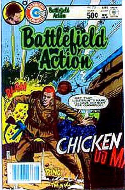 Cover for Battlefield Action (Charlton, 1980 series) #70
