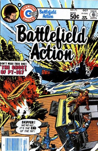 Cover for Battlefield Action (Charlton, 1957 series) #71