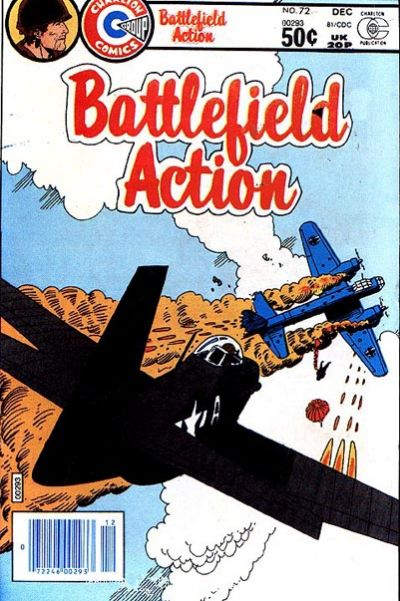Cover for Battlefield Action (Charlton, 1957 series) #72