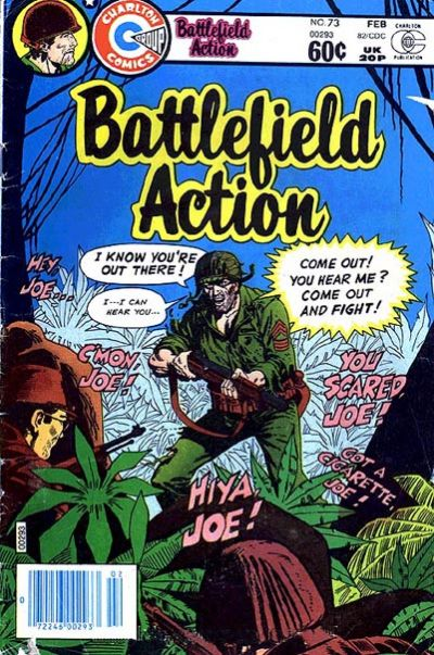 Cover for Battlefield Action (Charlton, 1980 series) #73