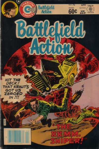 Cover for Battlefield Action (Charlton, 1980 series) #74