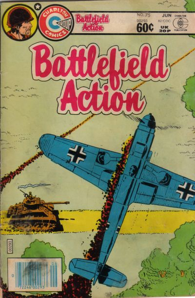 Cover for Battlefield Action (Charlton, 1980 series) #75