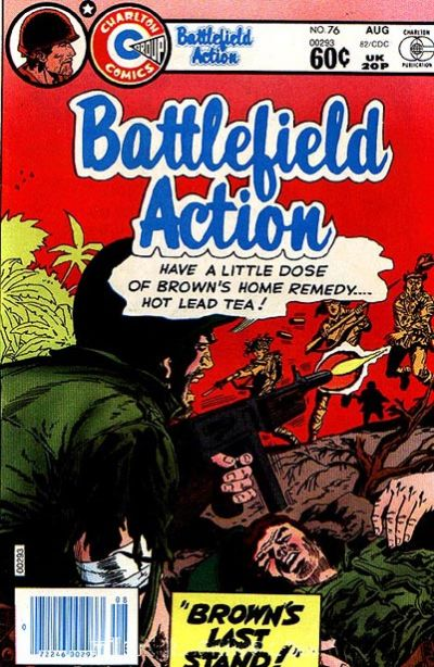 Cover for Battlefield Action (Charlton, 1980 series) #76