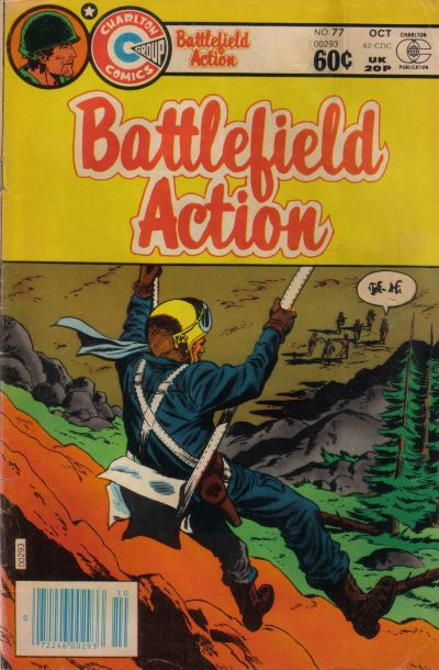Cover for Battlefield Action (Charlton, 1980 series) #77