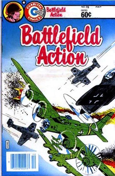 Cover for Battlefield Action (Charlton, 1980 series) #78