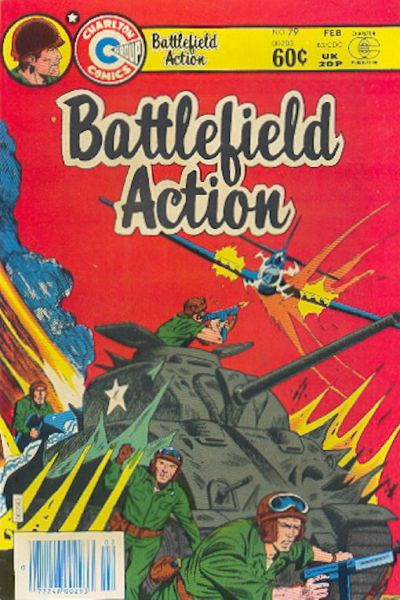 Cover for Battlefield Action (Charlton, 1980 series) #79