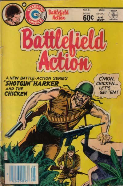 Cover for Battlefield Action (Charlton, 1980 series) #81