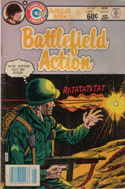 Cover for Battlefield Action (Charlton, 1980 series) #82