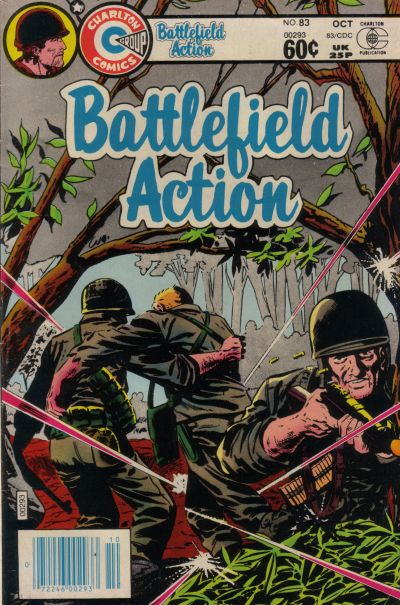 Cover for Battlefield Action (Charlton, 1980 series) #83