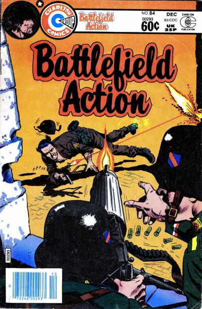 Cover for Battlefield Action (Charlton, 1980 series) #84