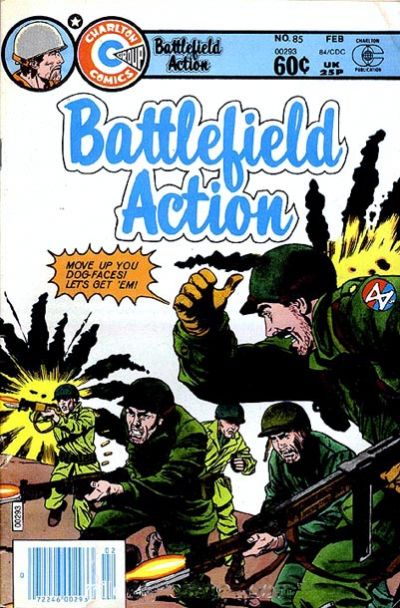 Cover for Battlefield Action (Charlton, 1980 series) #85