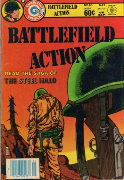 Cover for Battlefield Action (Charlton, 1980 series) #86