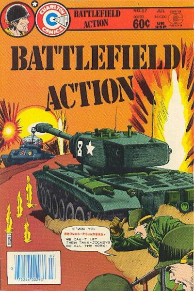 Cover for Battlefield Action (Charlton, 1980 series) #87