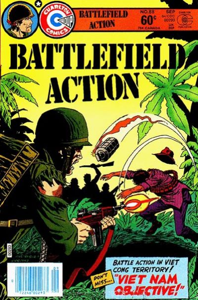 Cover for Battlefield Action (Charlton, 1980 series) #88