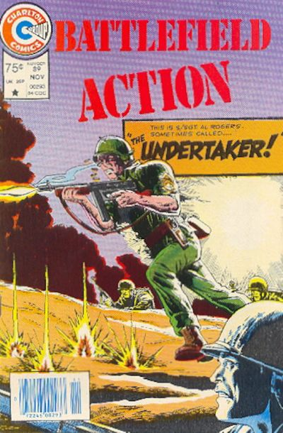 Cover for Battlefield Action (Charlton, 1980 series) #89