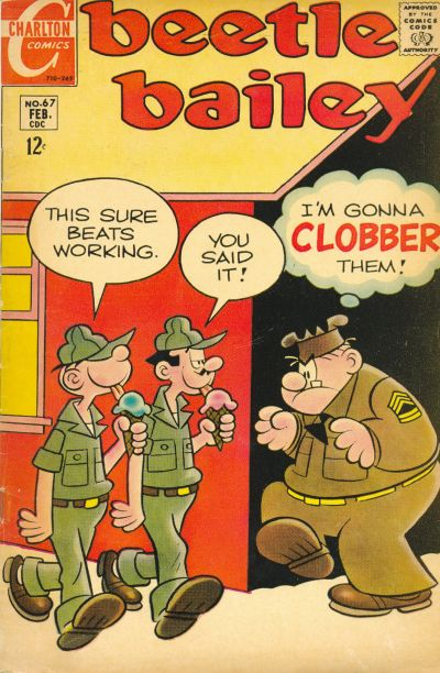 Cover for Beetle Bailey (Charlton, 1969 series) #67
