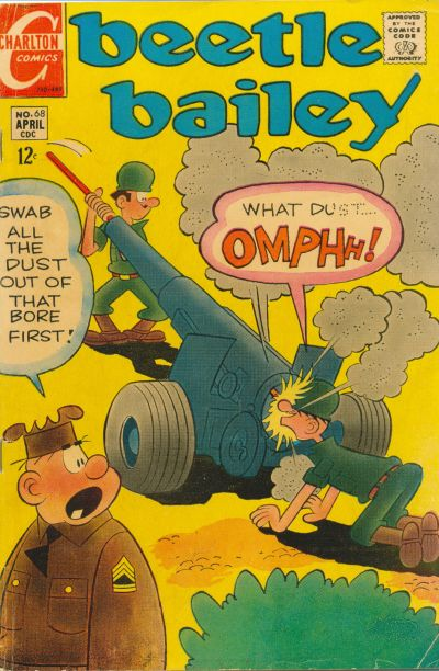 Cover for Beetle Bailey (Charlton, 1969 series) #68