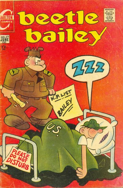 Cover for Beetle Bailey (Charlton, 1969 series) #69
