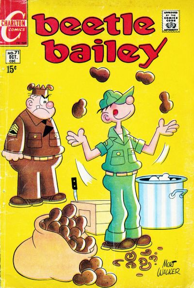 Cover for Beetle Bailey (Charlton, 1969 series) #71