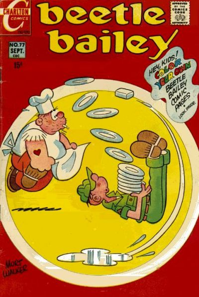 Cover for Beetle Bailey (Charlton, 1969 series) #77