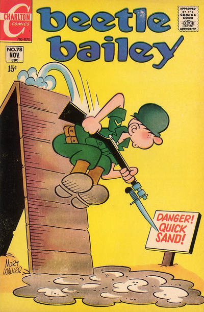 Cover for Beetle Bailey (Charlton, 1969 series) #78