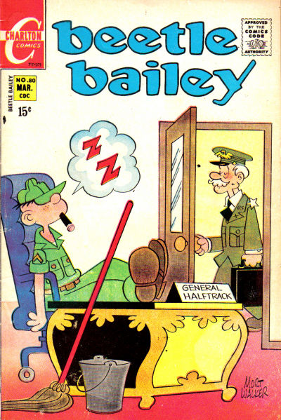 Cover for Beetle Bailey (Charlton, 1969 series) #80