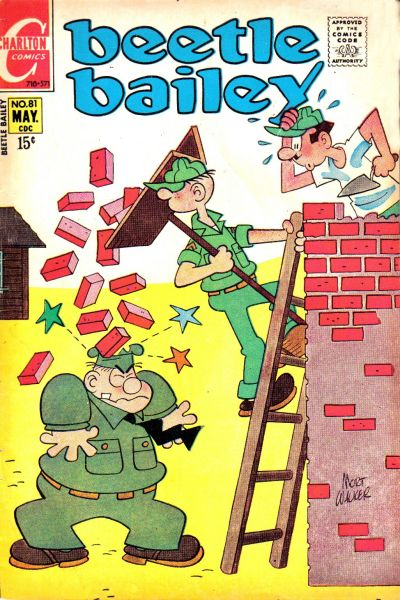Cover for Beetle Bailey (Charlton, 1969 series) #81