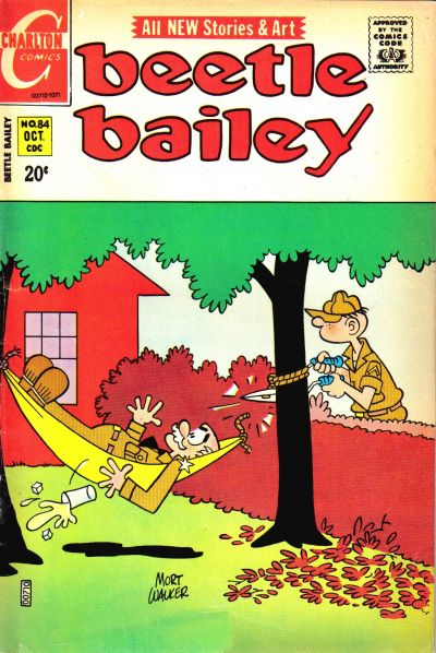 Cover for Beetle Bailey (Charlton, 1969 series) #84