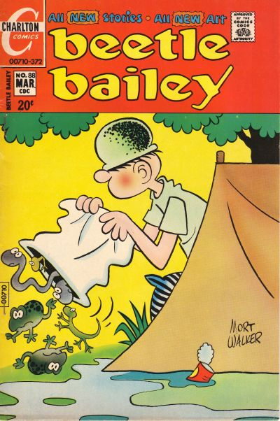 Cover for Beetle Bailey (Charlton, 1969 series) #88
