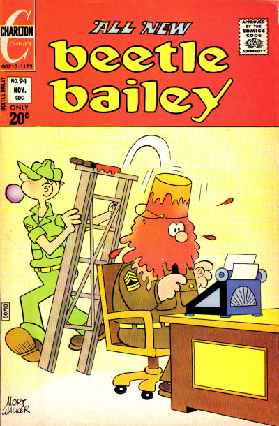 Cover for Beetle Bailey (Charlton, 1969 series) #94