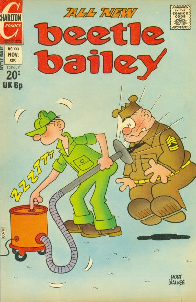 Cover for Beetle Bailey (Charlton, 1969 series) #103