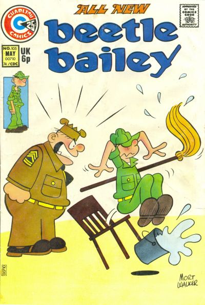 Cover for Beetle Bailey (Charlton, 1969 series) #105