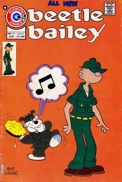 Cover for Beetle Bailey (Charlton, 1969 series) #111
