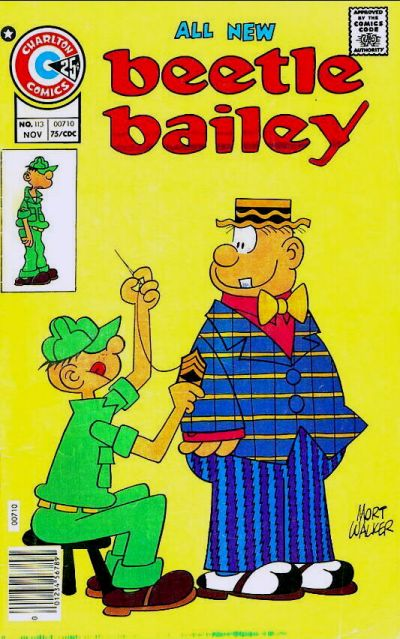 Cover for Beetle Bailey (Charlton, 1969 series) #113