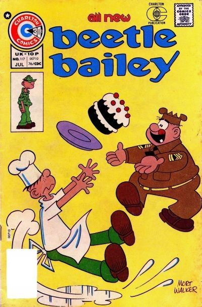 Cover for Beetle Bailey (Charlton, 1969 series) #117