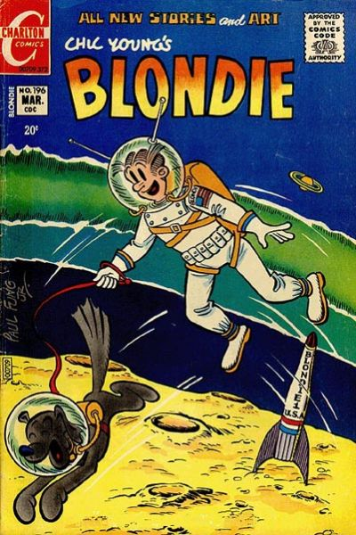Cover for Blondie (Charlton, 1969 series) #196