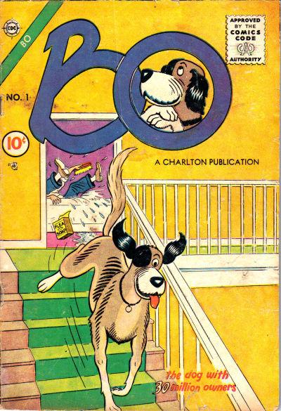 Cover for Bo (Charlton, 1955 series) #1