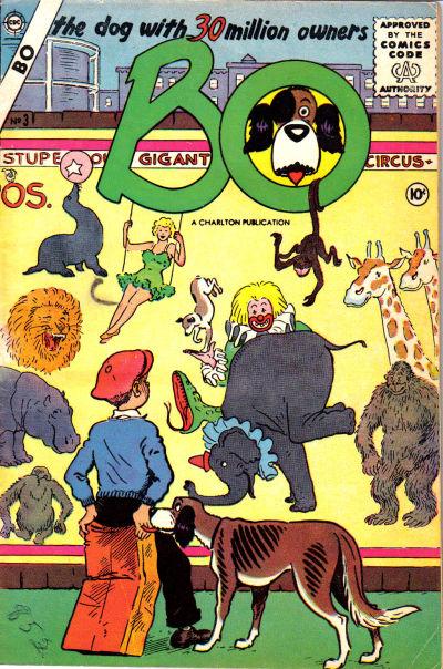Cover for Bo (Charlton, 1955 series) #3