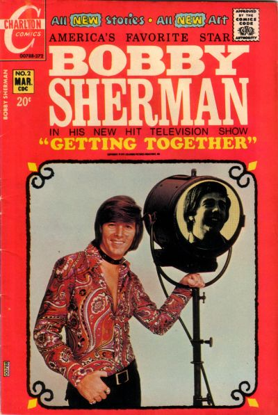 Cover for Bobby Sherman (Charlton, 1972 series) #2