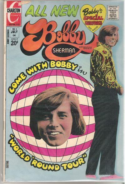 Cover for Bobby Sherman (Charlton, 1972 series) #5