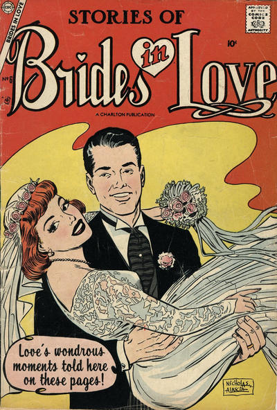 Cover for Brides in Love (Charlton, 1956 series) #6